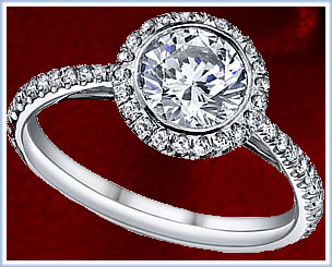 Luceen Engagement Designer Ring