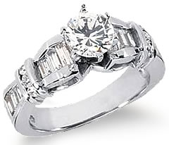 buy women engagement for rings a light her platinum ring online