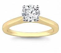 Diamond Solitaire Rings