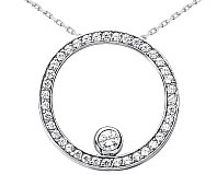fashion diamond pendants
