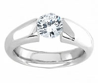 Tension Rings Engagement Rings Diamond Tension Rings by Novori