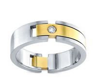 Men diamond wedding rings