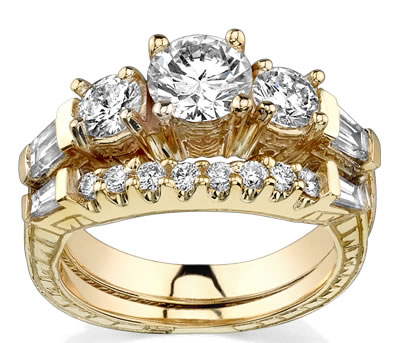 nothing can create a bigger heartache matching bridal sets - Girl Wedding Rings