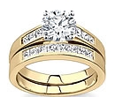 gold platinum diamond wedding rings