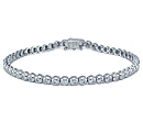 gold diamond tennis bracelets